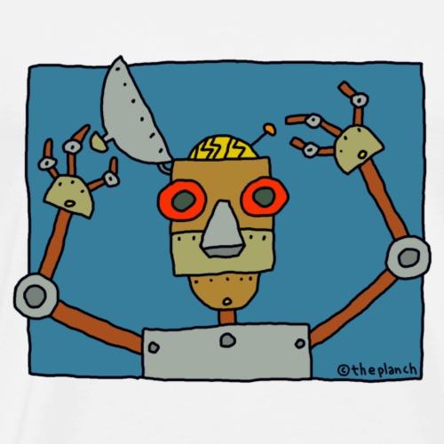 Le robot - T-shirt Premium Homme