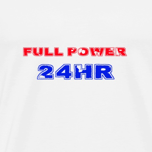 Full Power 24 HR - Men's Premium T-Shirt