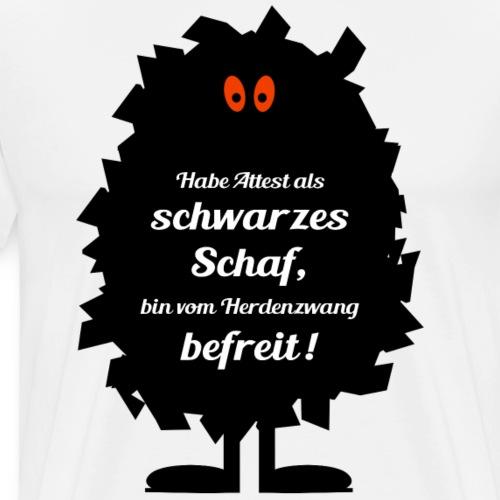 Freies Schwarz-Schaf - Männer Premium T-Shirt