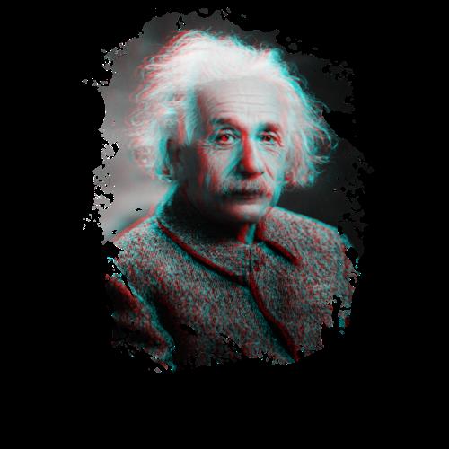 Albert Einstein - HOPE - T-shirt Premium Homme