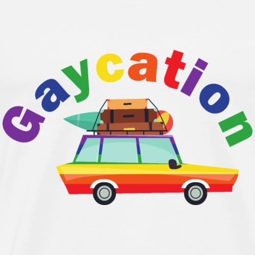 Gaycation | LGBT | Pride - Men's Premium T-Shirt