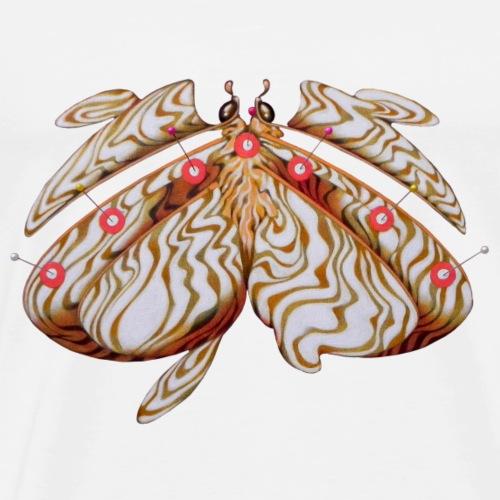 The albino butterfly - Maglietta Premium da uomo
