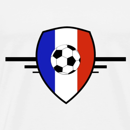 Blason français - T-shirt Premium Homme
