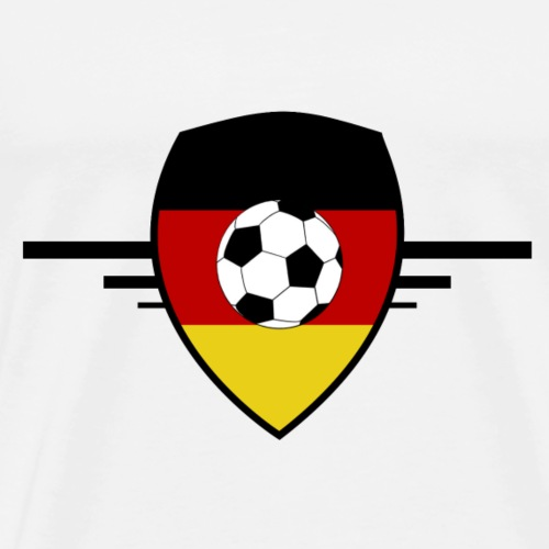Germany football - T-shirt Premium Homme