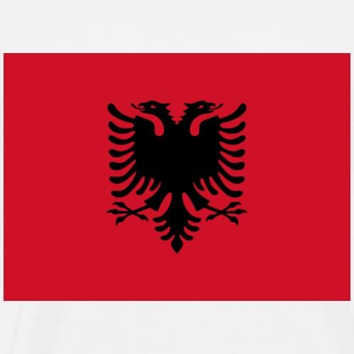 Albanien Flagge - Männer Premium T-Shirt