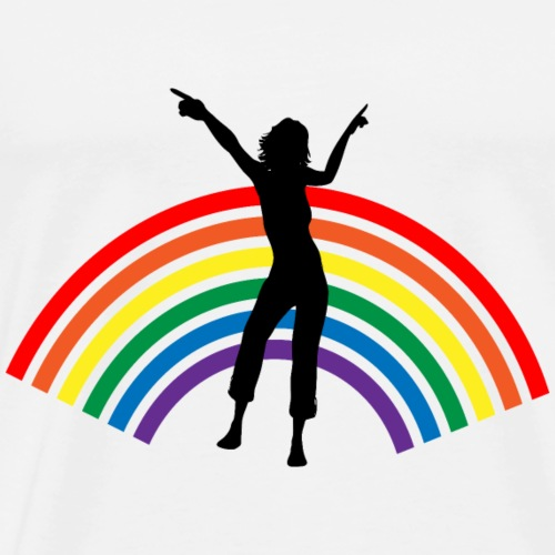 Raimbow dance - T-shirt Premium Homme