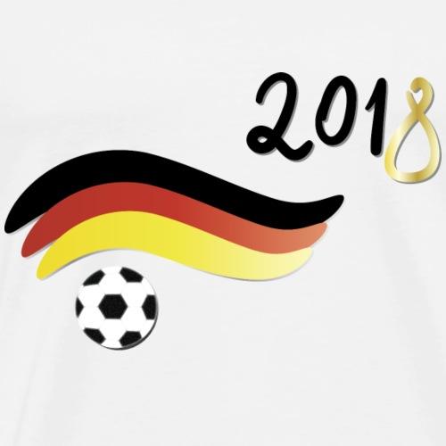 Fussball für Deutschland 2018 - Männer Premium T-Shirt