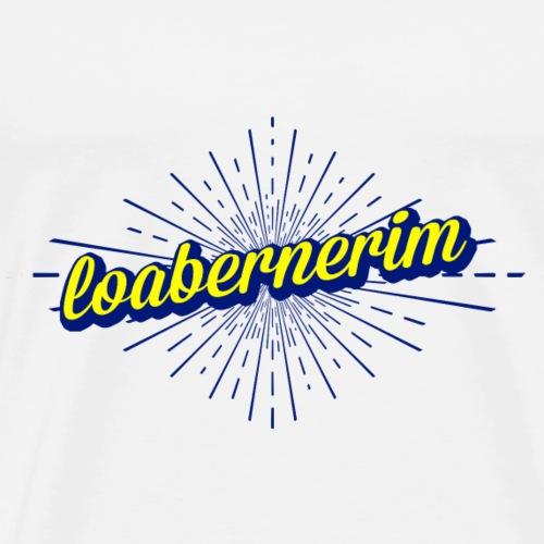 loabernerim - Oberlausitzer Mundart T-Shirt - Männer Premium T-Shirt