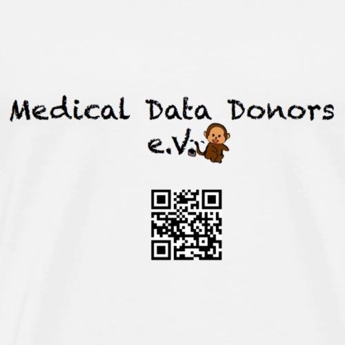 Medical Data Donor Logo (gross) - Männer Premium T-Shirt