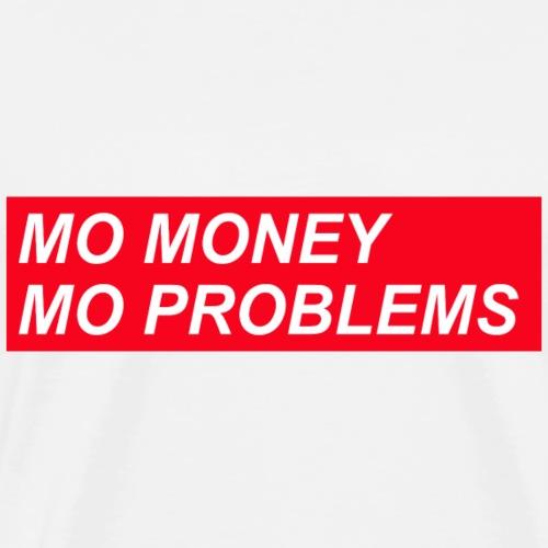 Roter Balken-mehr Geld-mehr Probleme - Männer Premium T-Shirt