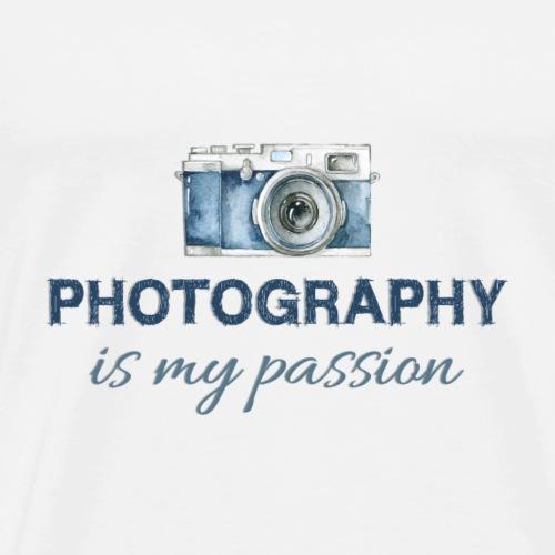 Photography is my passion ManuelaSfotografie-de - Männer Premium T-Shirt