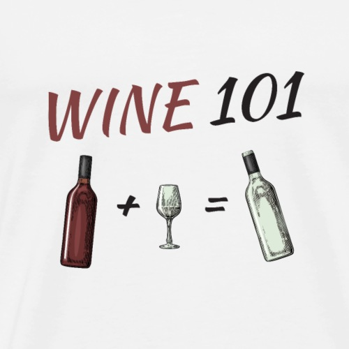 WINE 101 - Männer Premium T-Shirt