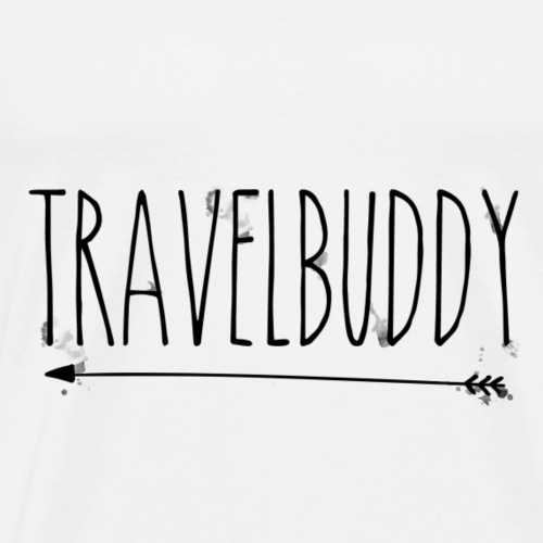 Travelbuddy links - Männer Premium T-Shirt