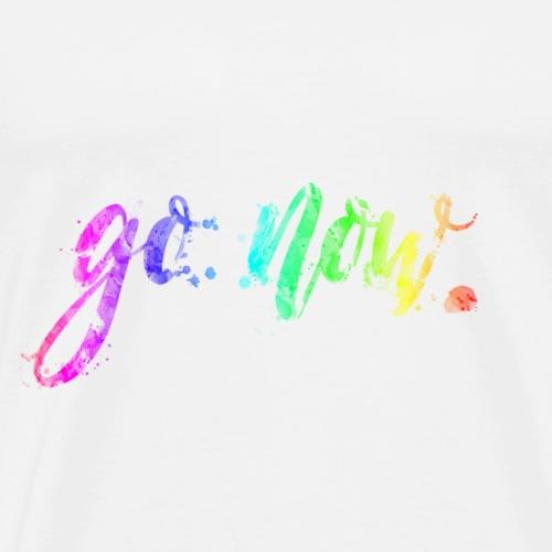 go now! - Männer Premium T-Shirt