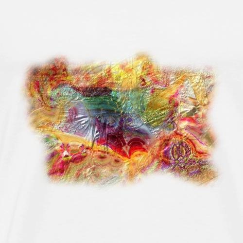 A painter 41 copie. Reliefs - T-shirt Premium Homme
