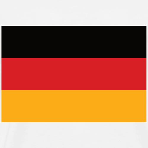 Deutschland Flagge vDaniel - Männer Premium T-Shirt