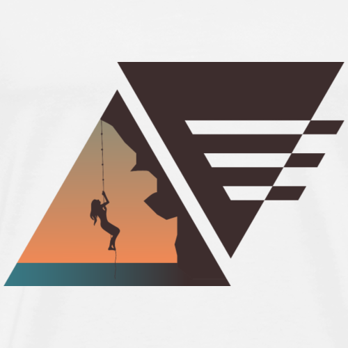 Kletterin - Männer Premium T-Shirt