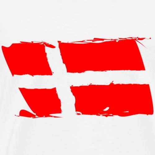 Dänische Fahne - Männer Premium T-Shirt