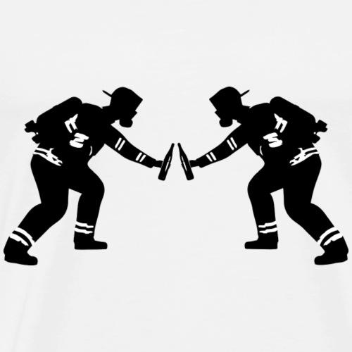 Feuerwehr im Einsatz - Männer Premium T-Shirt