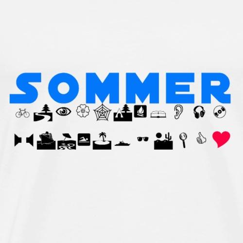 Sommer Liebe - Männer Premium T-Shirt