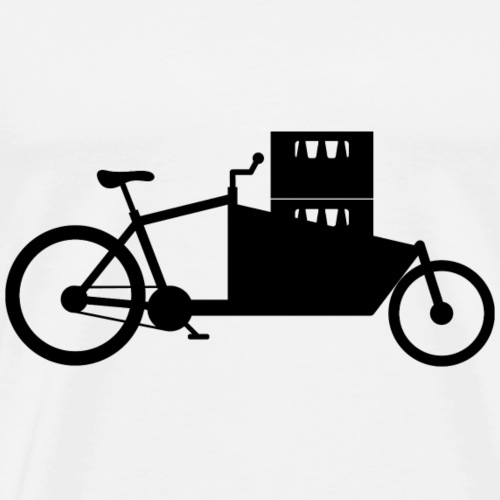 Cargobike Getränke - Männer Premium T-Shirt