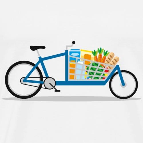 Lastenrad Einkaufswagen - Männer Premium T-Shirt