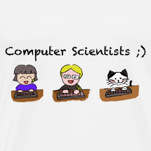 Computer Scientists - Männer Premium T-Shirt