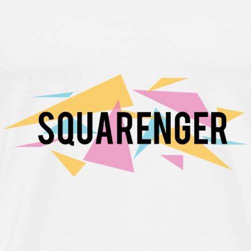 Squarenger Universum - Männer Premium T-Shirt