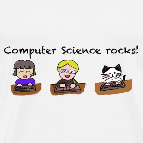 Computer Sciene Rocks! - Männer Premium T-Shirt