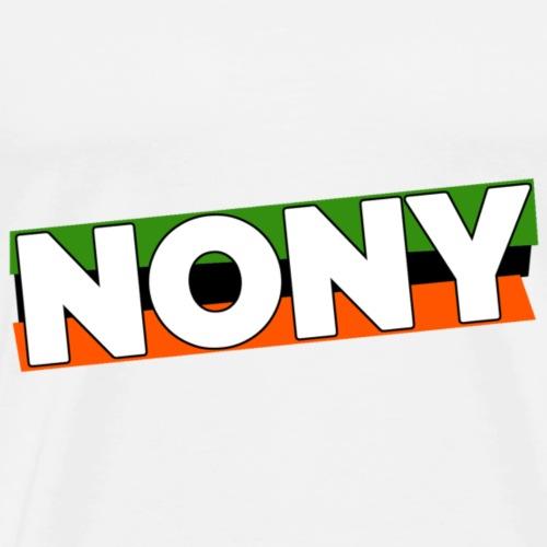 Nony: Logo 2 - Männer Premium T-Shirt