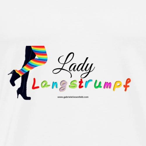 Lady Langstrumpf - Männer Premium T-Shirt