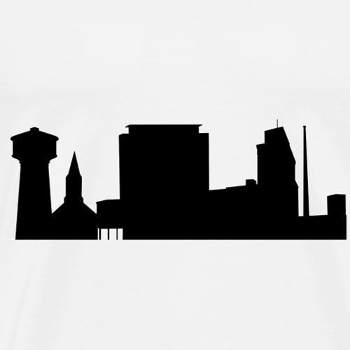 Skyline - Männer Premium T-Shirt