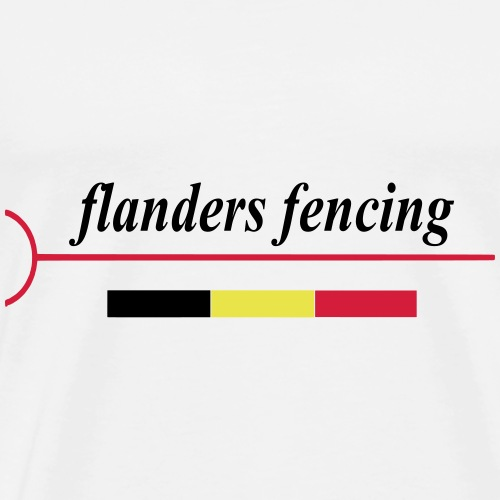 Flanders Fencing BE - Mannen Premium T-shirt
