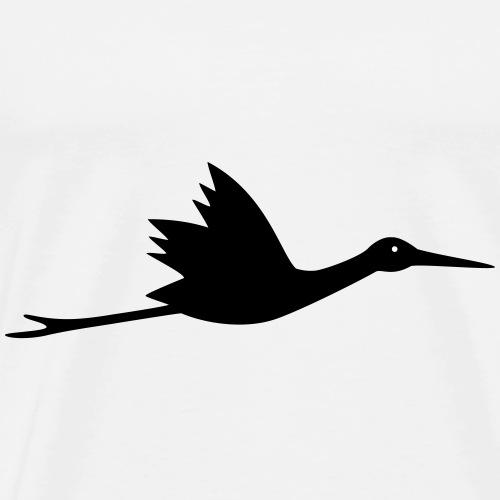 Klapperstorch Storch - Männer Premium T-Shirt