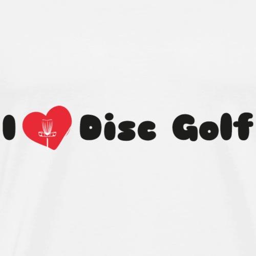I Love Disc Golf IV - Männer Premium T-Shirt