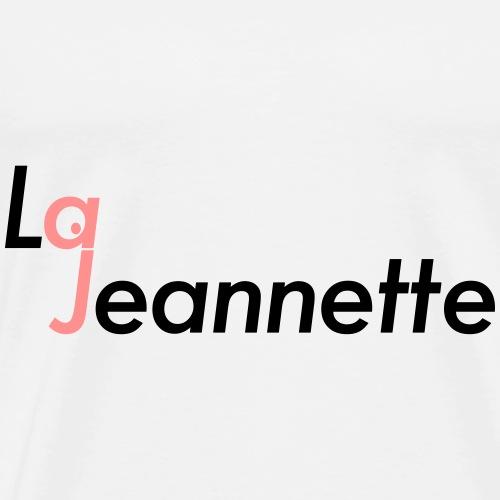 logolajeannette - Men's Premium T-Shirt