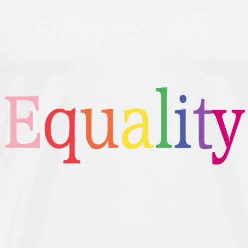 Equality | Regenbogen | LGBT | Proud - Men's Premium T-Shirt