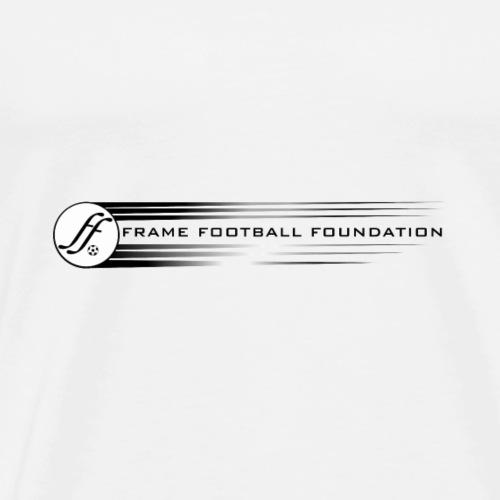 Flying Wheel Frame Football - Men's Premium T-Shirt