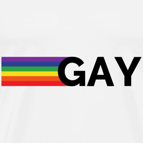 Gay | Rainbow | LGBT - Men's Premium T-Shirt
