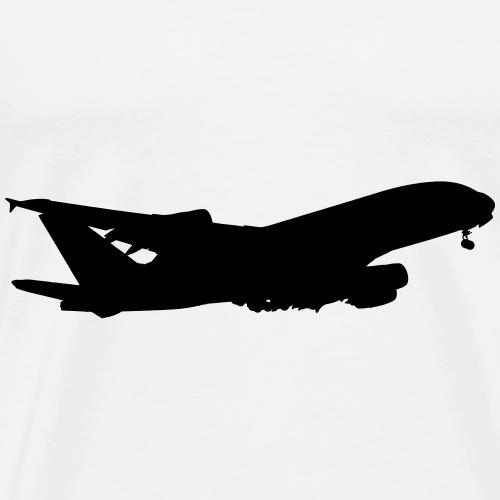 Flugzeug groß Passagierflugzeug fliegen Pilot - Männer Premium T-Shirt