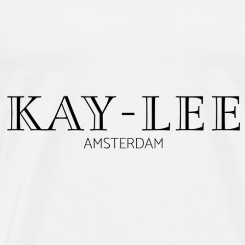 Kay-Lee de Sanders - Zwart - Mannen Premium T-shirt