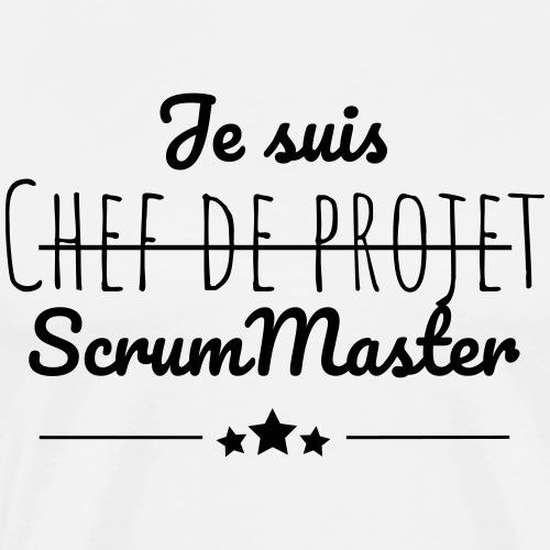 Je suis ScrumMaster - T-shirt Premium Homme