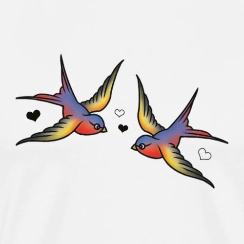 Classic Swallows - Men's Premium T-Shirt