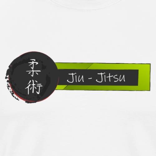jiujitsu - Camiseta premium hombre