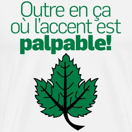 Outre feuille vert - T-shirt Premium Homme