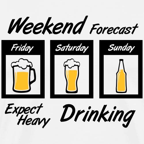 Weekend forecast - Men's Premium T-Shirt