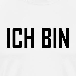 ICH BIN - schwarz - Männer Premium T-Shirt