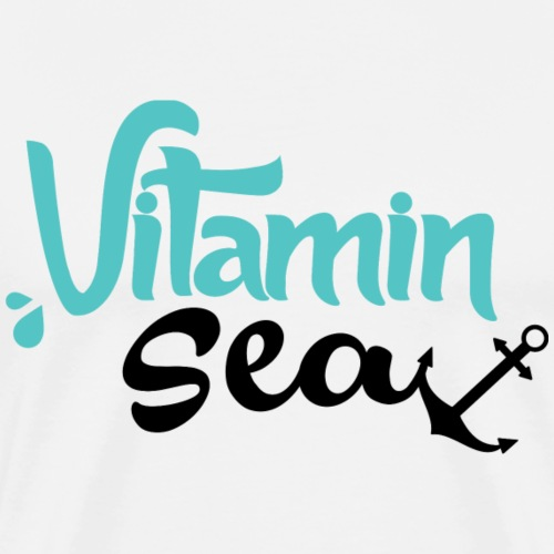 Vitamin Sea #1 - by Life to go - Männer Premium T-Shirt
