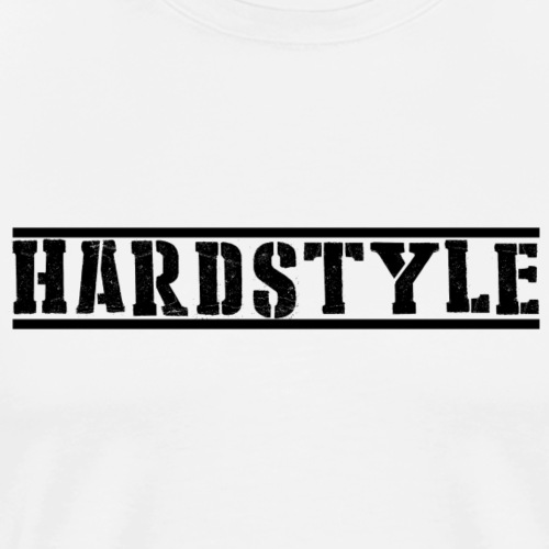 Hardstyle simple design - Männer Premium T-Shirt