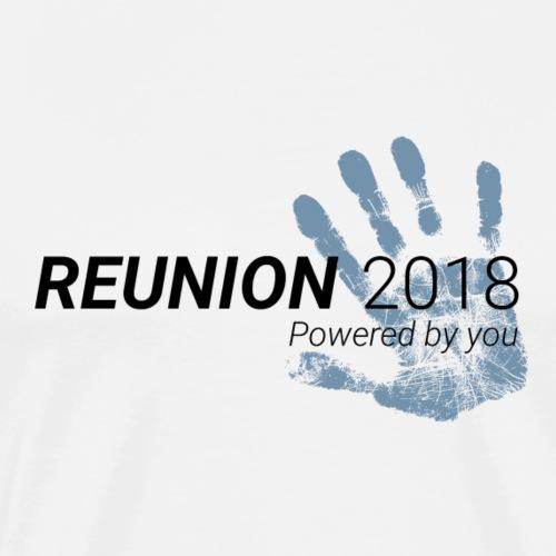 Reunion 2018 (für hellen Hintergrund) - Männer Premium T-Shirt
